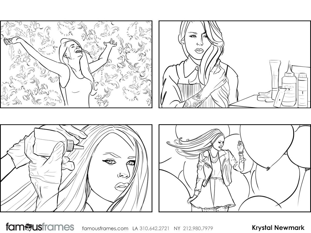 Krystal Newmark's People - B&W Line storyboard art (Image #5666_114_1441138839)