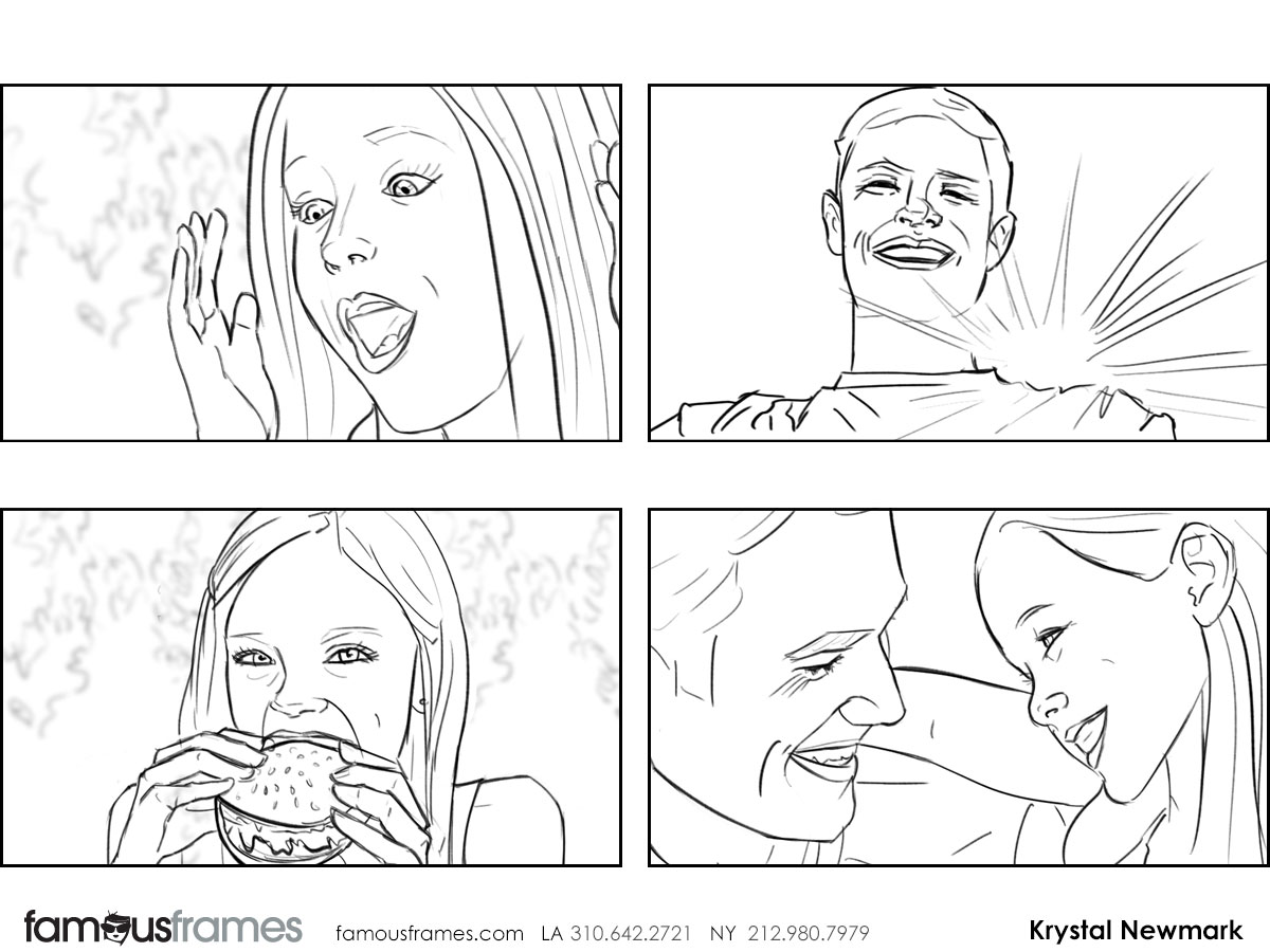 Krystal Newmark's People - B&W Line storyboard art (Image #5666_114_1441138848)