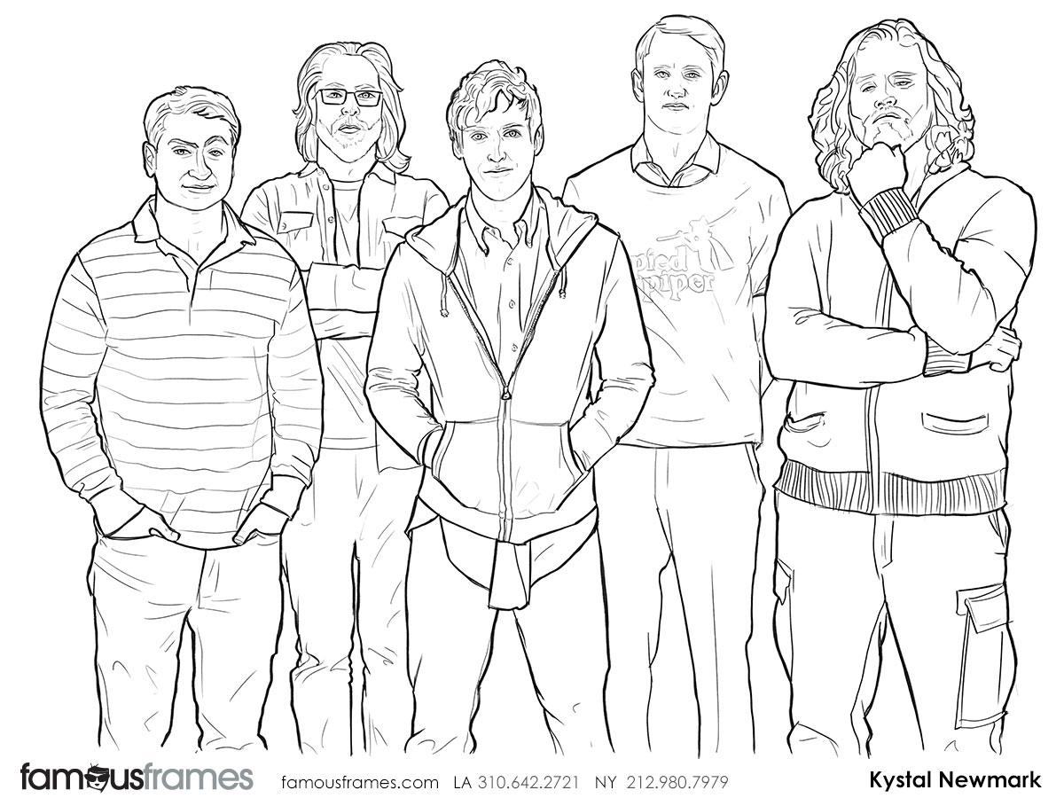 Krystal Newmark's People - B&W Line storyboard art (Image #5666_114_1447701918)