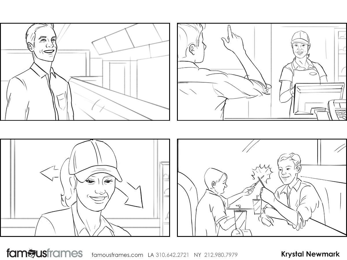 Krystal Newmark's People - B&W Line storyboard art (Image #5666_114_1453313398)