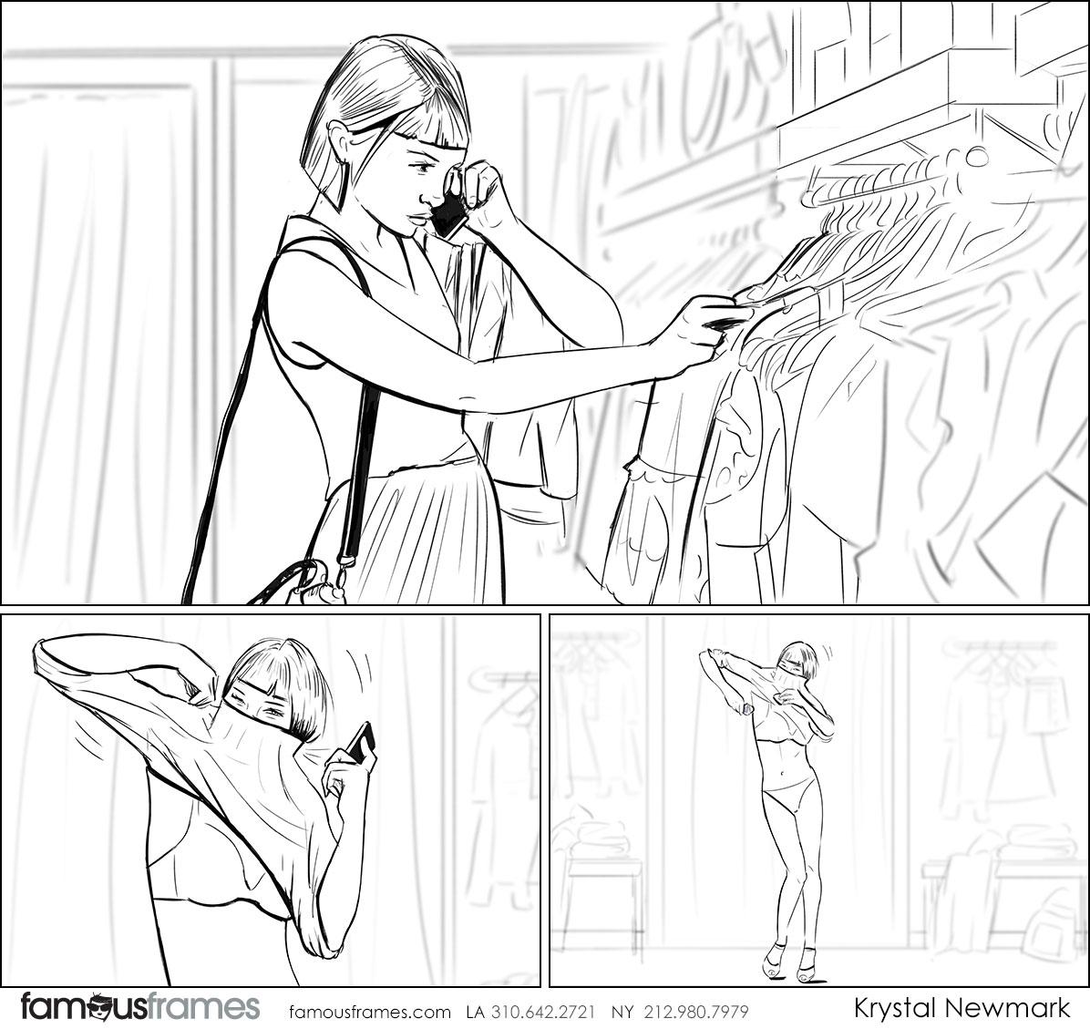 Krystal Newmark's People - B&W Line storyboard art (Image #5666_114_1494527861)