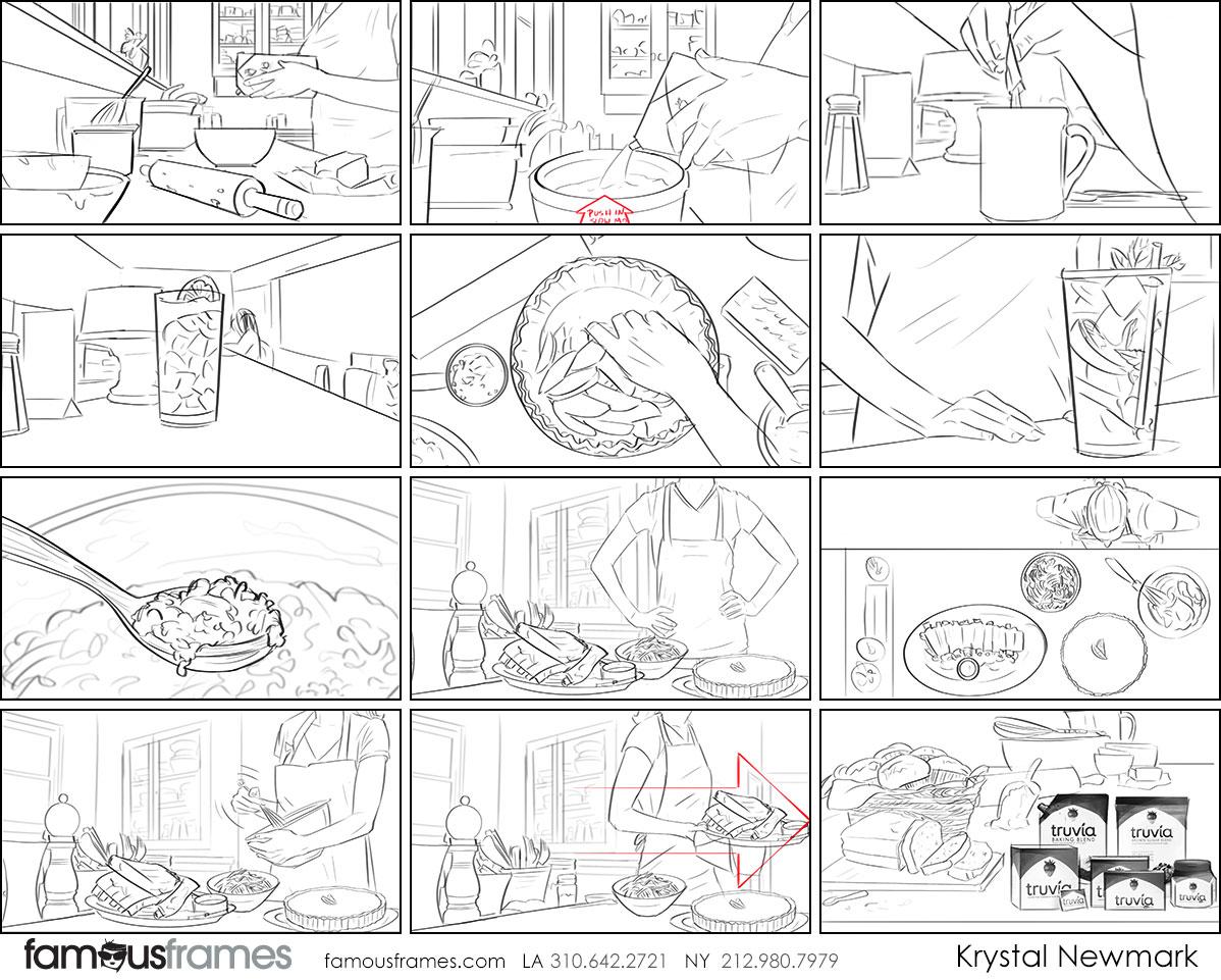 Krystal Newmark's People - B&W Line storyboard art (Image #5666_114_1494530519)
