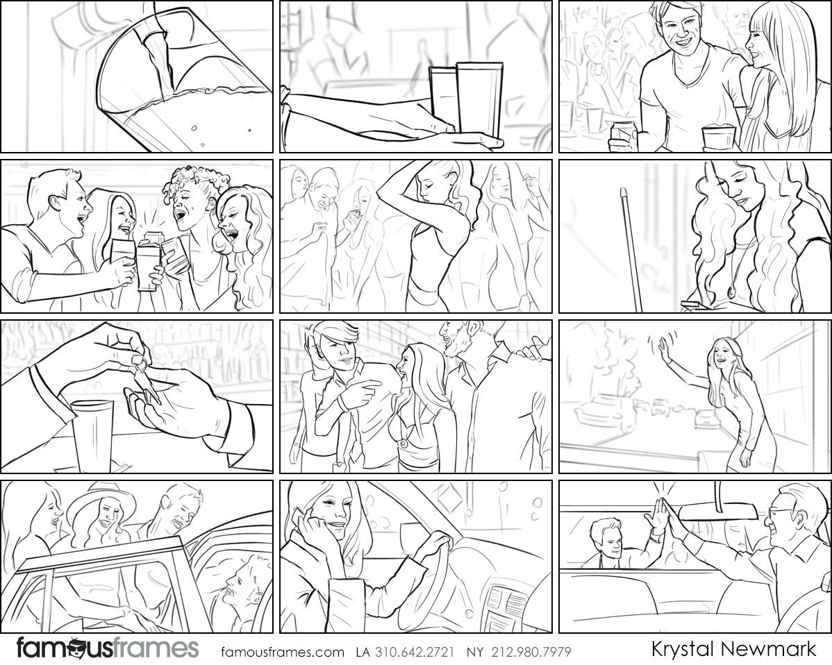 Krystal Newmark's People - B&W Line storyboard art (Image #5666_114_1496438031)
