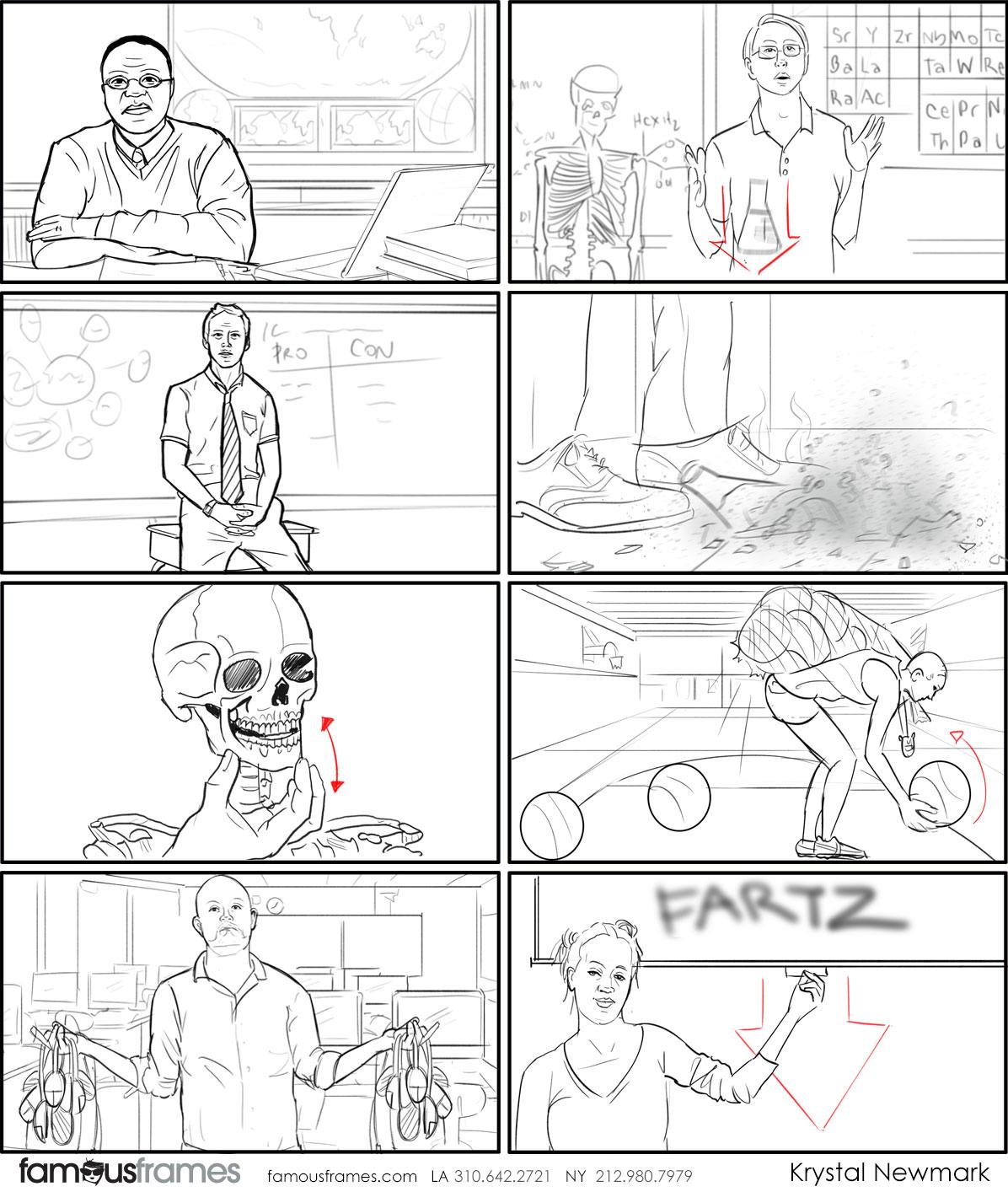 Krystal Newmark's People - B&W Line storyboard art (Image #5666_114_1507847119)