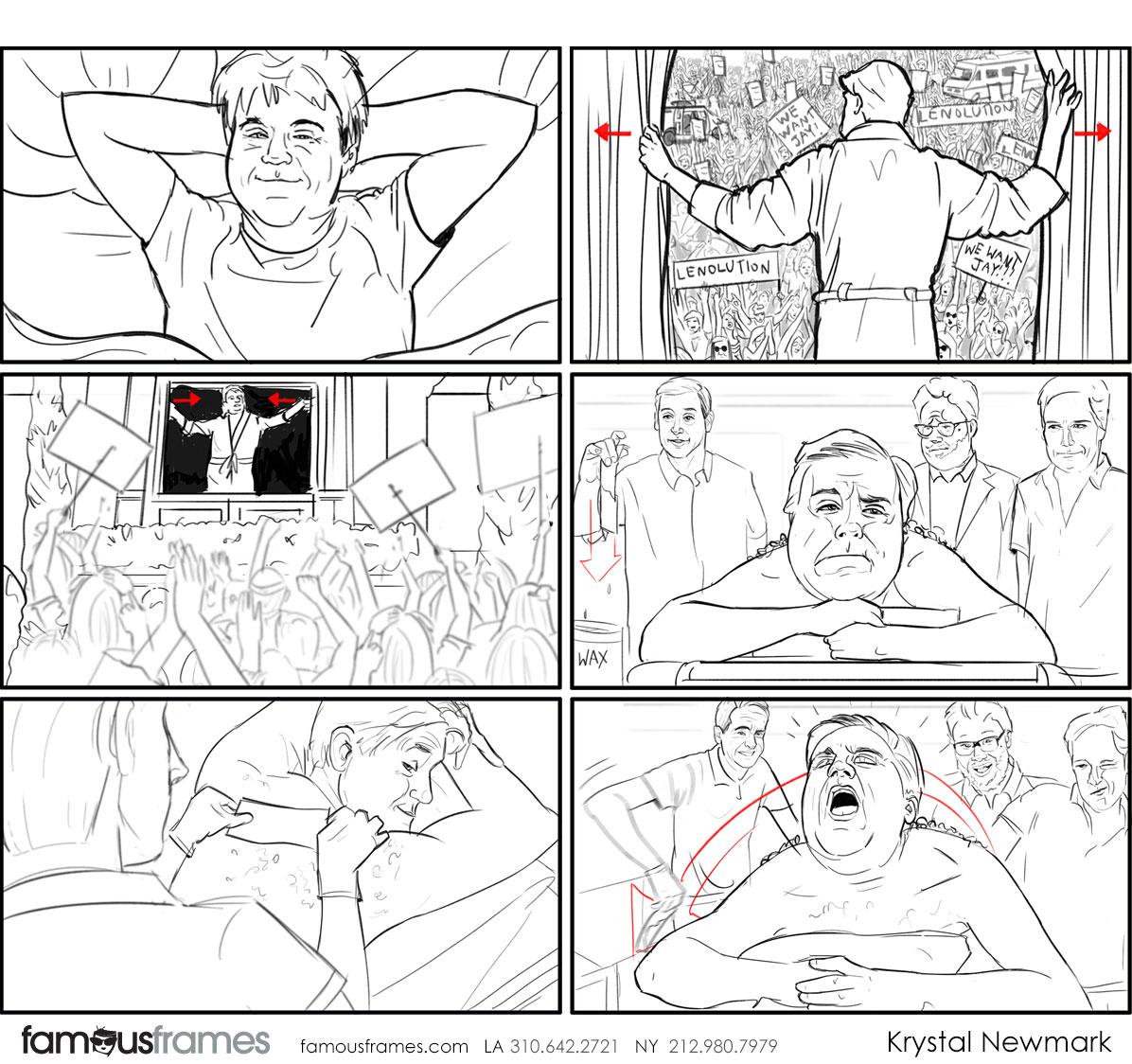 Krystal Newmark's People - B&W Line storyboard art (Image #5666_114_1507847196)