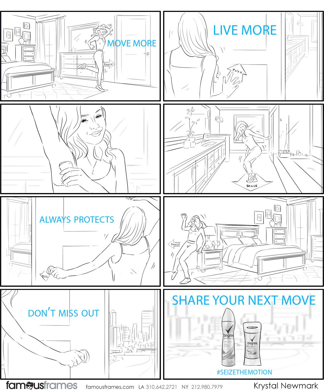 Krystal Newmark's People - B&W Line storyboard art (Image #5666_114_1507847809)