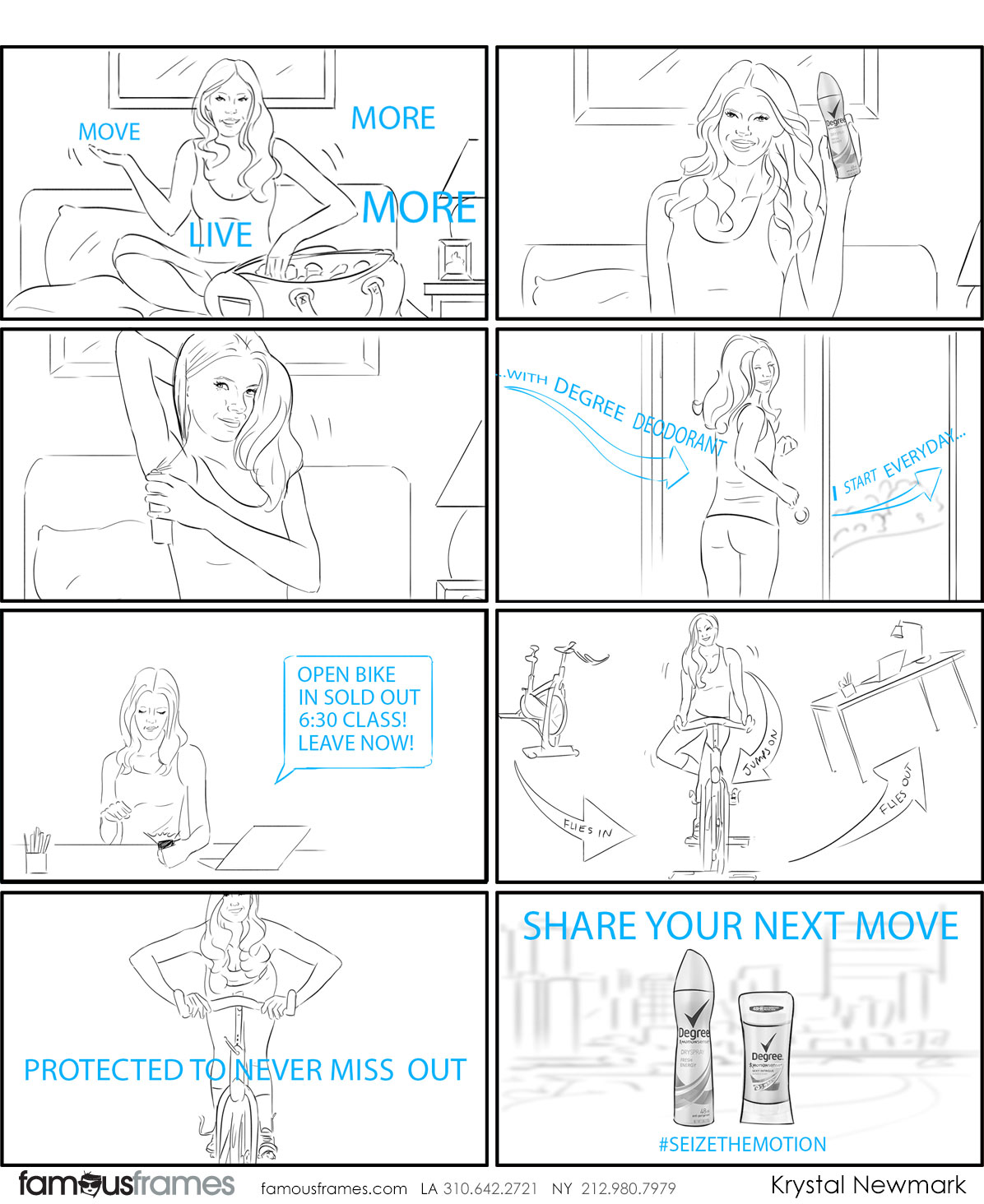 Krystal Newmark's People - B&W Line storyboard art (Image #5666_114_1507847966)