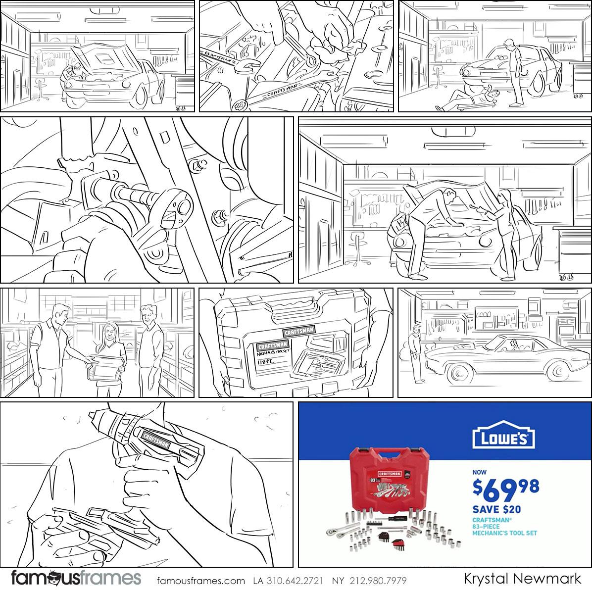 Krystal Newmark's People - B&W Line storyboard art (Image #5666_114_1559778076)