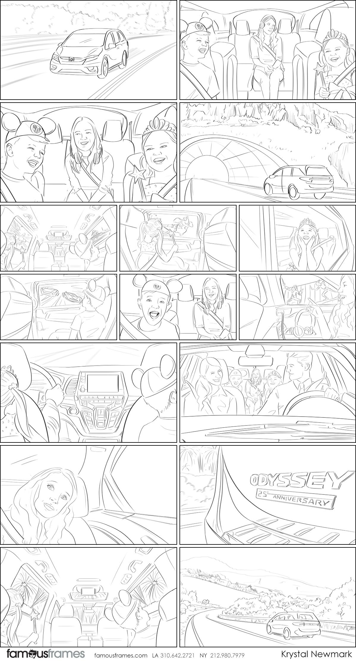 Krystal Newmark's People - B&W Line storyboard art (Image #5666_16_1603391915)