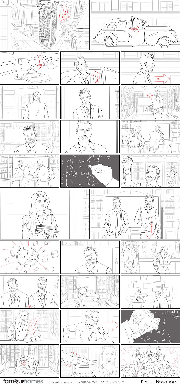 Krystal Newmark's People - B&W Line storyboard art (Image #5666_22_1563409467)