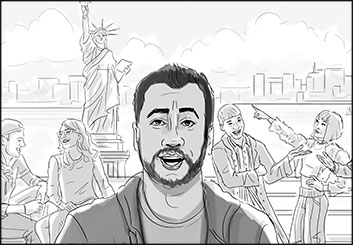 Krystal Newmark's Likenesses storyboard art