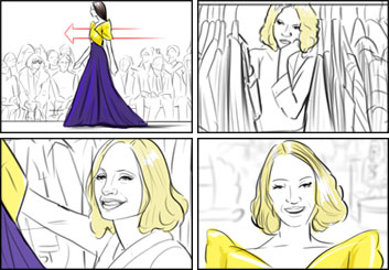 Krystal Newmark's Shootingboards storyboard art