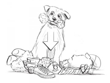 Krystal Newmark's Wildlife / Animals storyboard art