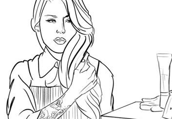 Krystal Newmark's Shootingboards storyboard art