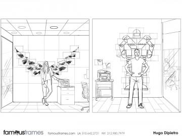 Hugo Dipietro's Conceptual Elements storyboard art