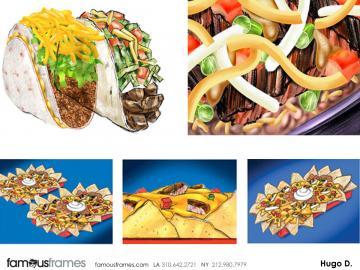 Hugo Dipietro's Food storyboard art