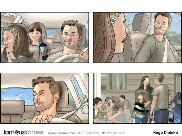 Hugo Dipietro's People - Color  storyboard art