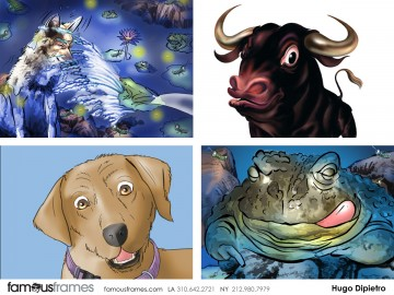 Hugo Dipietro's Wildlife / Animals storyboard art