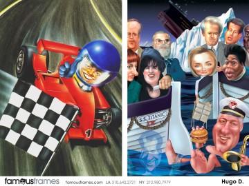 Hugo Dipietro's Characters / Creatures storyboard art