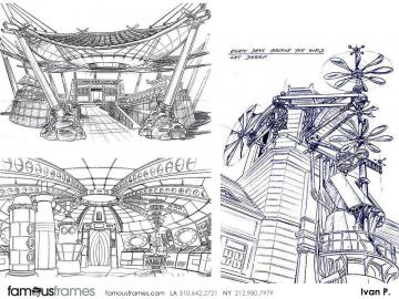 Ivan Pavlovits's Conceptual Elements storyboard art