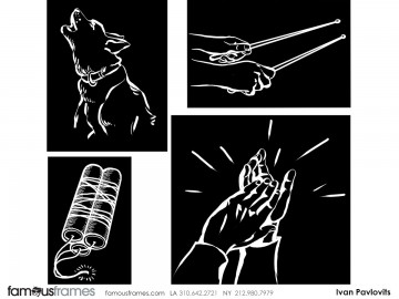 Ivan Pavlovits's Graphics storyboard art