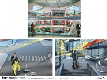 Ivan Pavlovits's Environments storyboard art