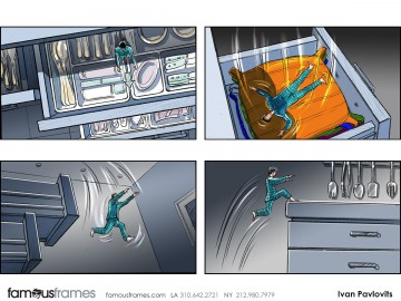 Ivan Pavlovits's People - Color  storyboard art