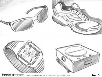 Ivan Pavlovits's Products storyboard art