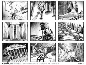 Ivan Pavlovits's Shootingboards storyboard art