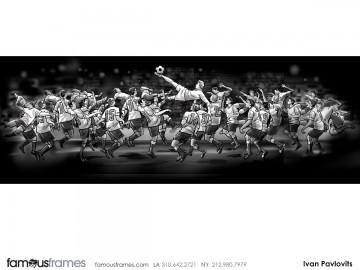 Ivan Pavlovits's Sports storyboard art