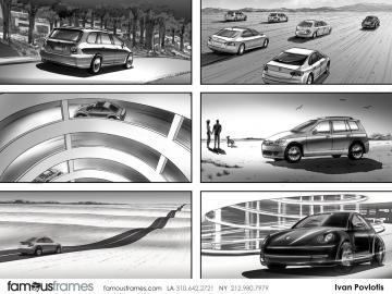 Ivan Pavlovits's Vehicles storyboard art