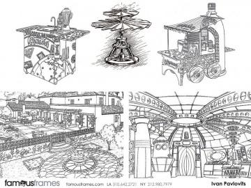 Ivan Pavlovits's Events / Displays storyboard art