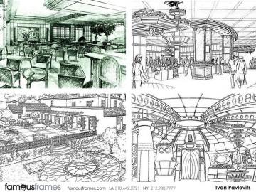 Ivan Pavlovits's Set Rendering  storyboard art