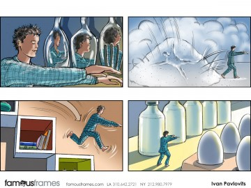 Ivan Pavlovits's Action storyboard art