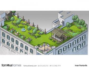 Ivan Pavlovits's Architectural storyboard art
