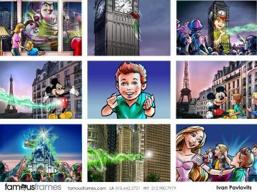 Ivan Pavlovits's Characters / Creatures storyboard art