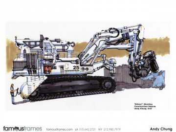 Andy Chung's Concept Vehicles storyboard art