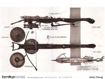 Andy Chung's Conceptual Elements storyboard art