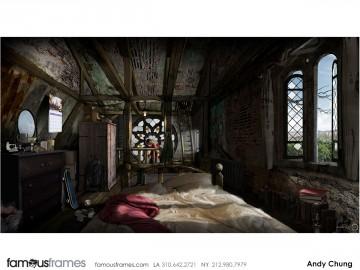 Andy Chung's Environments storyboard art