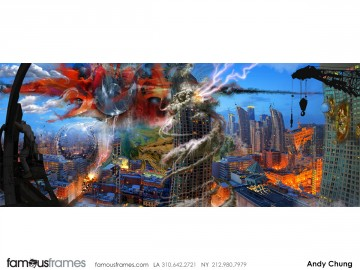 Andy Chung's Video Games storyboard art