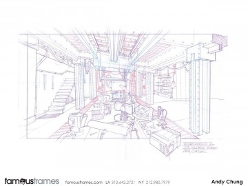 Andy Chung's Architectural storyboard art