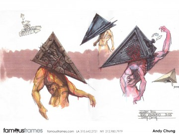 Andy Chung's Characters / Creatures storyboard art