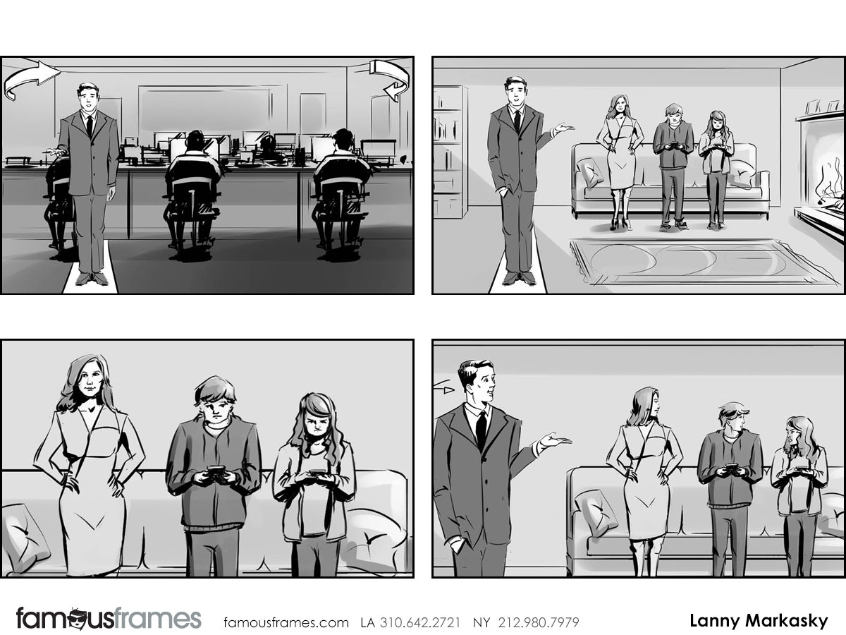 Lanny Markasky's People - B&W Tone storyboard art (Image #6431_113_1450379139)