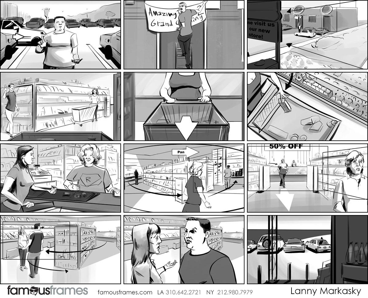 Lanny Markasky's People - B&W Tone storyboard art (Image #6431_113_1510084216)