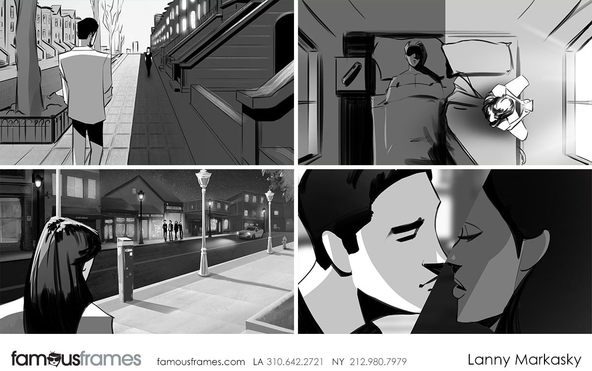 Lanny Markasky's People - B&W Tone storyboard art (Image #6431_22_1511991698)