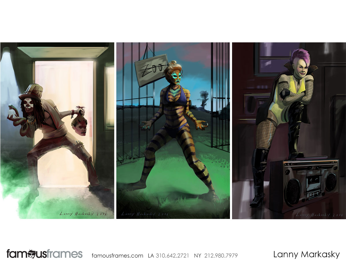 Lanny Markasky's Characters / Creatures storyboard art (Image #6431_8_1511820417)