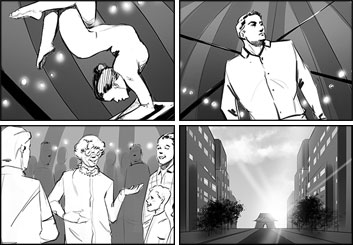 Lanny Markasky's Shootingboards storyboard art