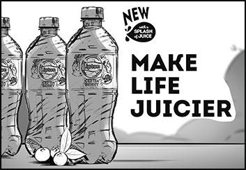 Lanny Markasky's Liquids storyboard art