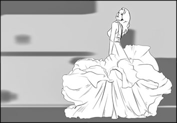 Lanny Markasky's Beauty / Fashion storyboard art