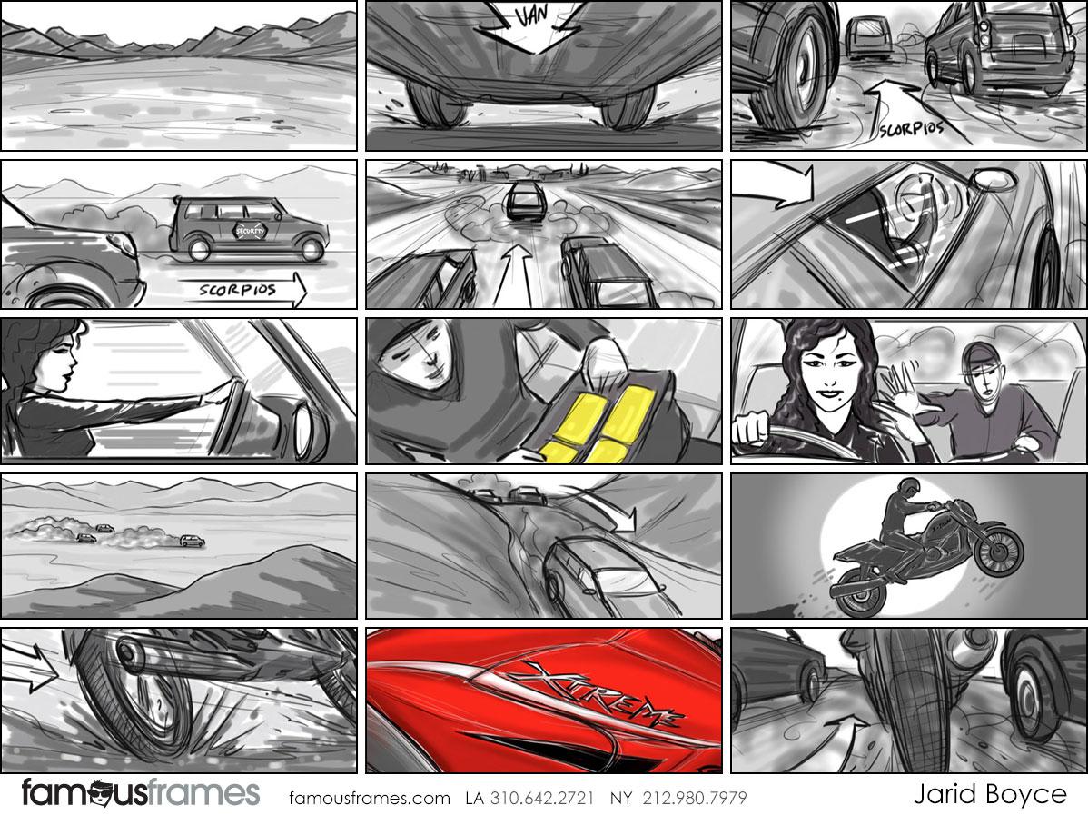 Jarid Boyce*'s Shooting Vehicles storyboard art (Image #64_107_1502488283)
